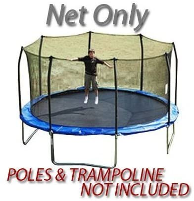 16 Foot Premium Trampoline Replacement Net For 8 Poles