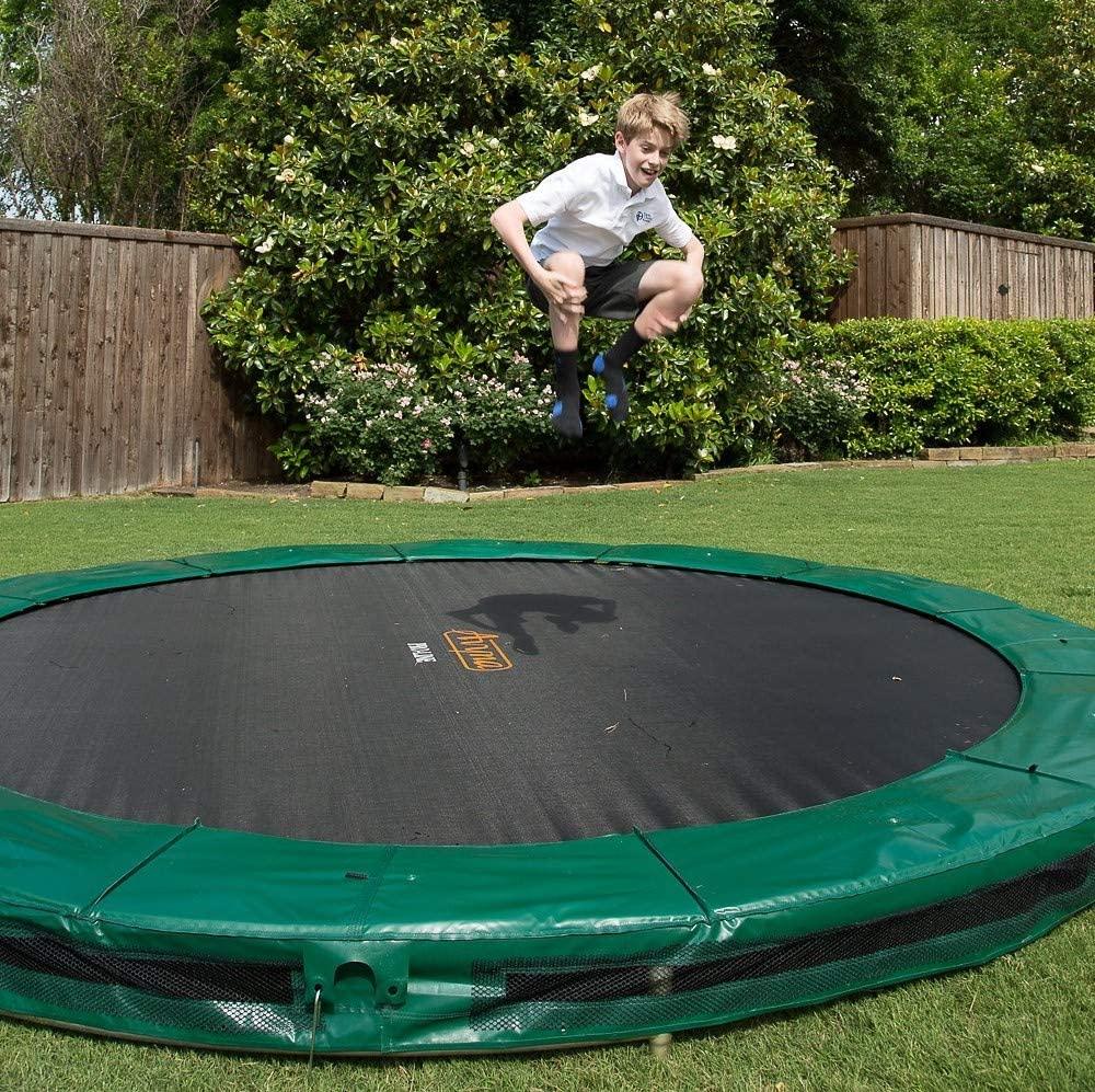 ground avyna trampoline diameter round foot forest