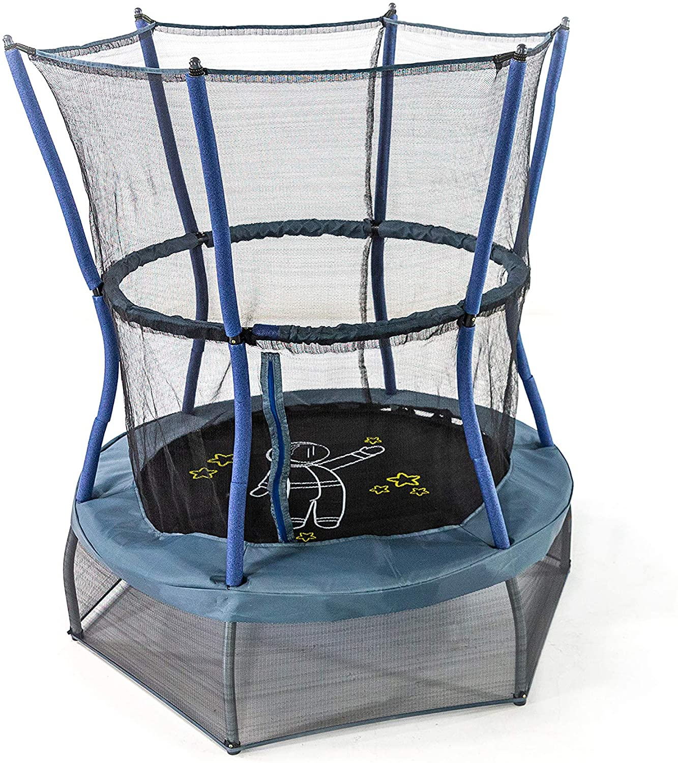 Skywalker 48 Inch Mini Trampolines with Enclosure Net